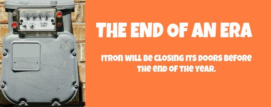 gmb says it is an end on an era as itron are set to close their