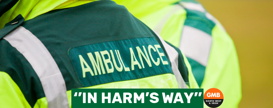 Paramedics in Harms Way daily at work
