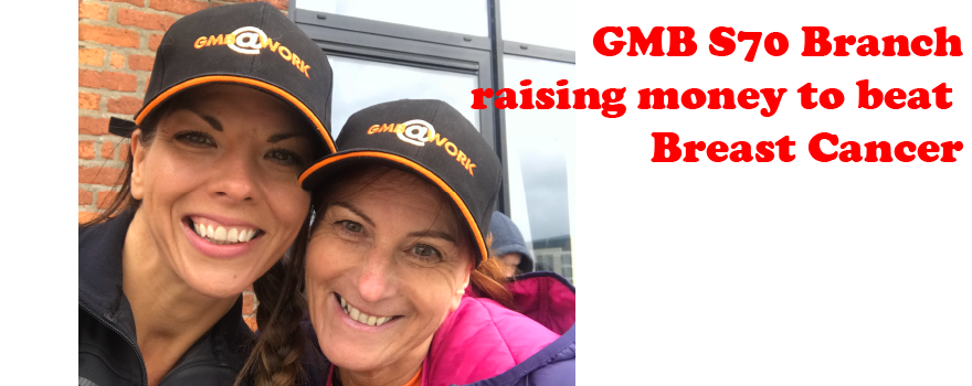 GMB trade union raising money for charity