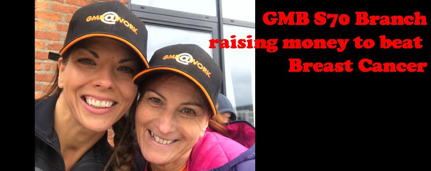 GMB trade union raising money for charity