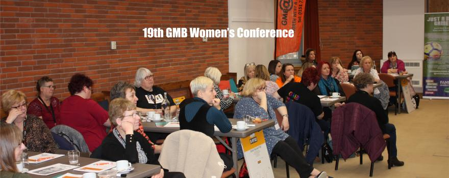 GMB trade union Womens Conference 2019