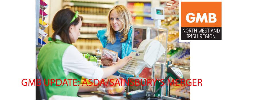 GMB warn of ASDA SAINBURYS merge