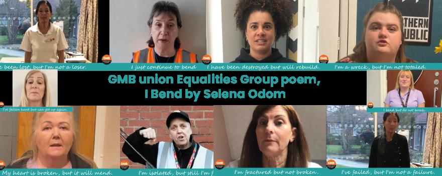 GMB union regional equalities group International Women's Day