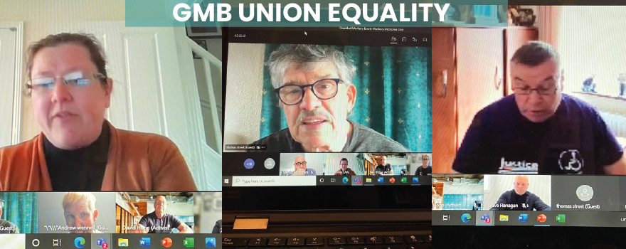GMB union Equalities event for Disabled workers