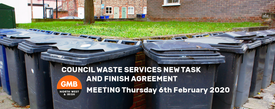 COUNCIL WASTE SERVICES NEW TASK AND FINISH AGREEMENT