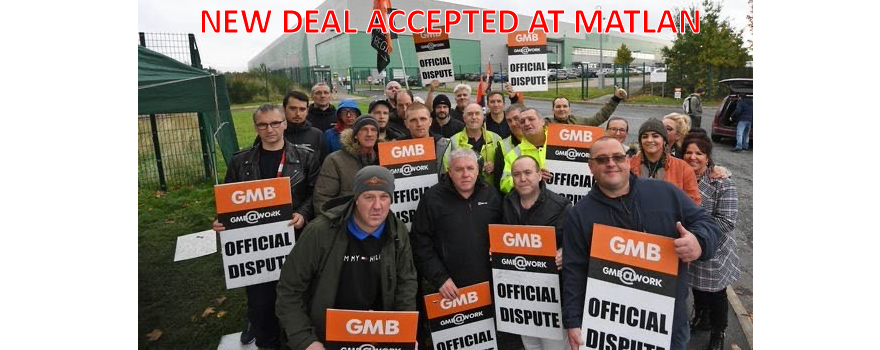 GMB union members accept new deal at Matalan