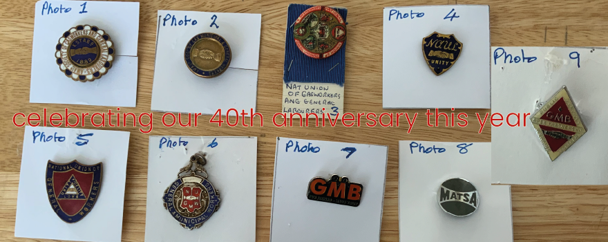 GMB union solidarity Badge Society