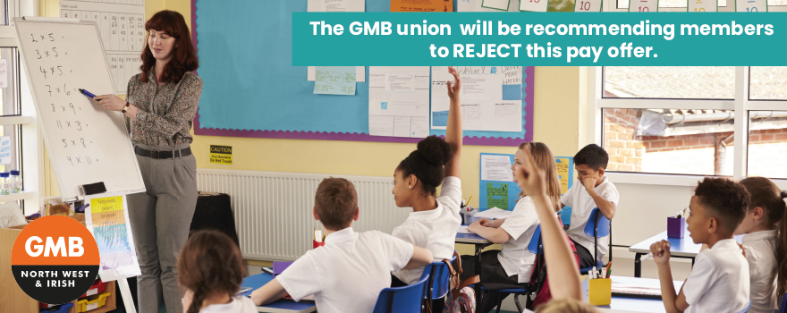 GMB union pay ballot Sept 2021 Local government pay offer
