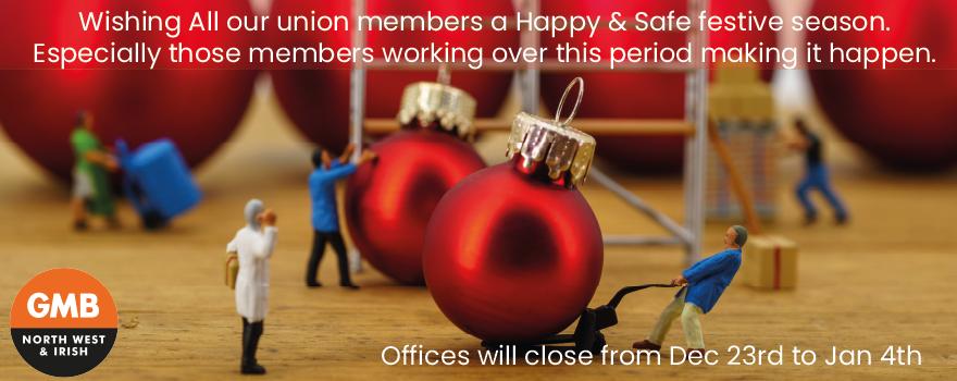 GMB uion festive season wishes