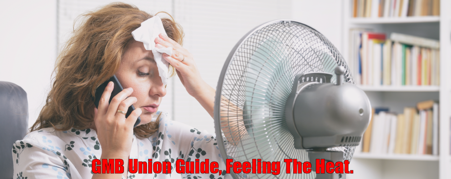 GMB union guide to working in the heat