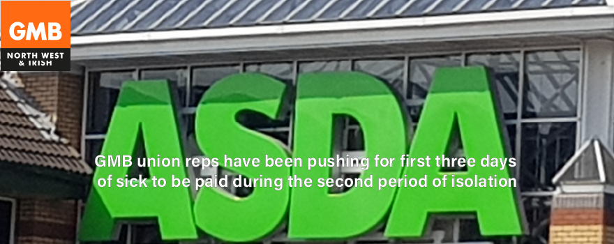 GMB union negotiate better pay at ASDA