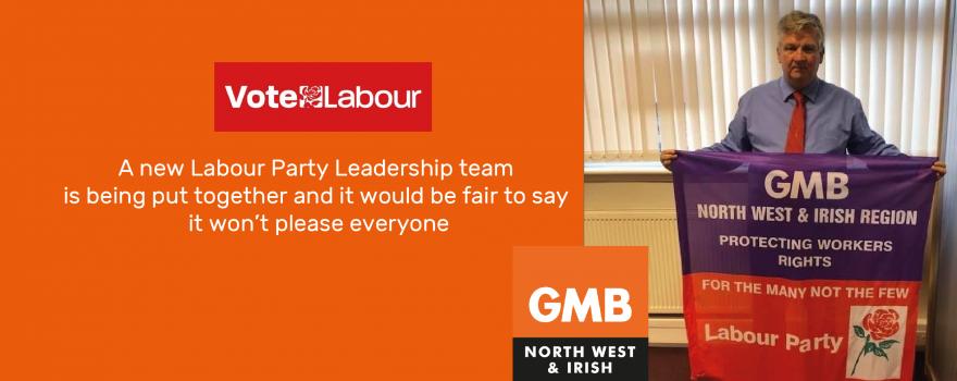 GMB union politics Neil Smith political officer 3 June 2020