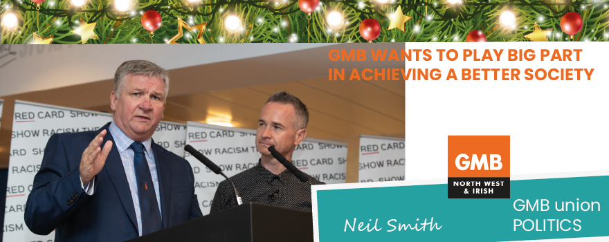 GMB union political officer Christmas message