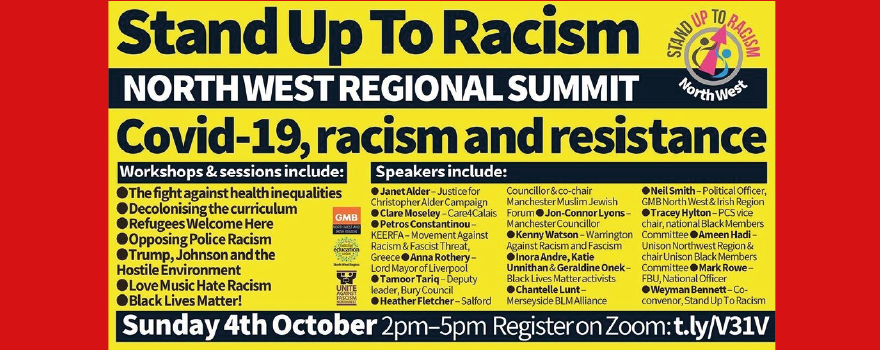 Stand Up to Racism online summit