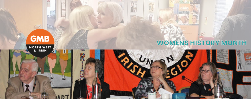 GMB union celebrate womens history month