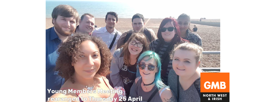 GMB Young Members meeting 25 April 2019