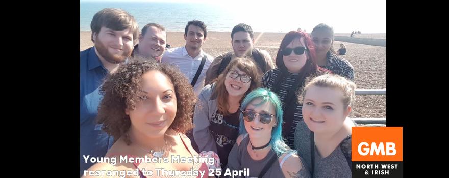 GMB Young Members meeting 25 April 2019
