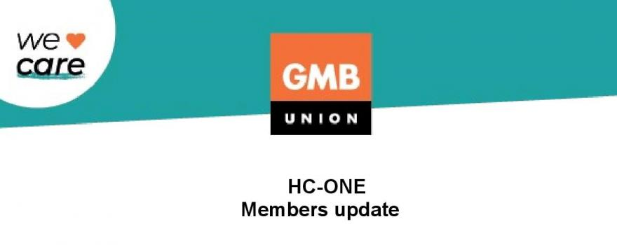 GMB union branch HC-ONE update
