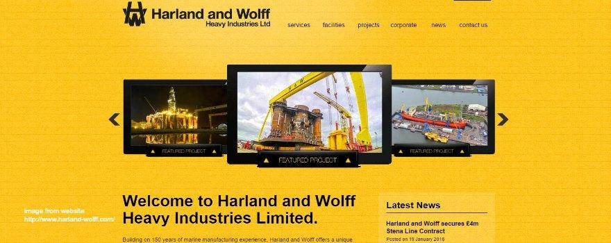 Job losses fear at Northern Ireland manufacturer Harland and Wolff