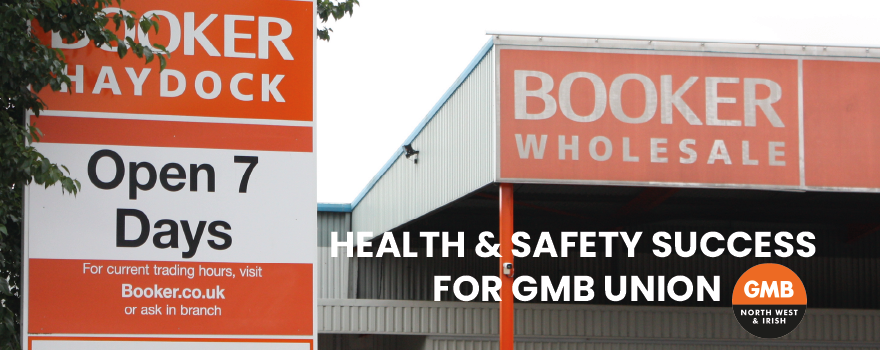 GMB union H&S success at Booker Wholesale