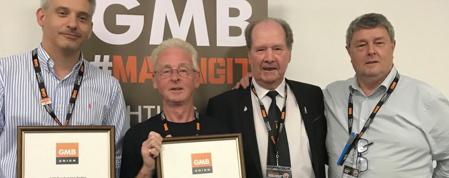 Awards at GMB Congress 2018