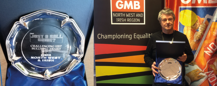 GMB union awarded Equalities Award