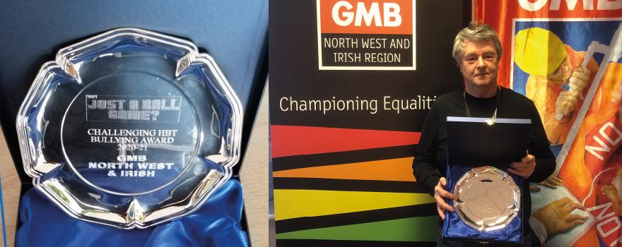 GMB union awarded Equalities Award