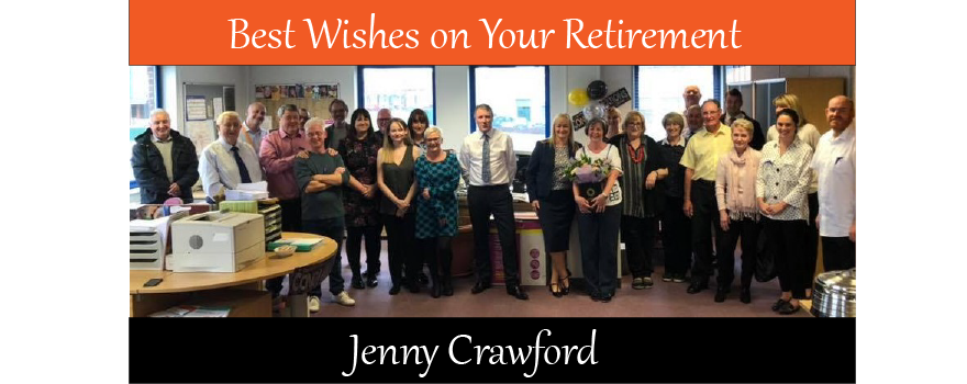Jenny Crawford retires from GMB trade union