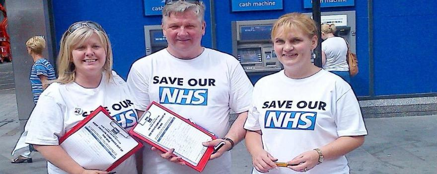 GMB says help Save Our NHS