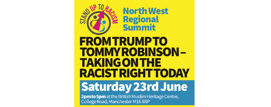 Stand Up to Racism rally June 2018