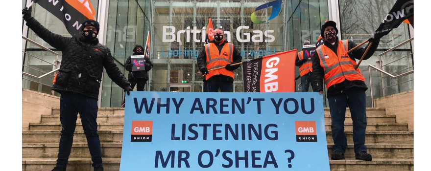 End Fire and Re-hire at British Gas say GMB union