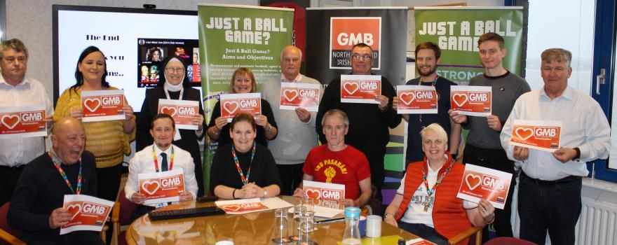 GMB union celebrates LGBT+ History Month