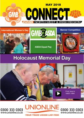GMB regional magazine Connect May edition
