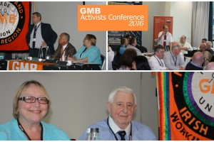 GMB Activists Conference April 2016 in Liverpool