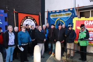 Annie Kenney statue unveiling supported by GMB trade union