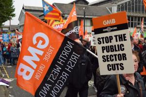 GMB take back Manchester March Oct 2017