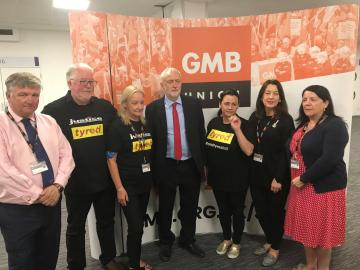 GMB trade union 2018 Congress